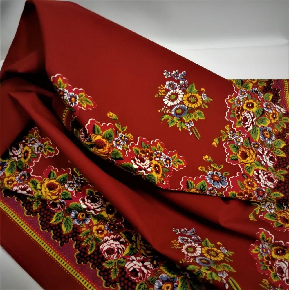 Krojový šátek s prázdným středem